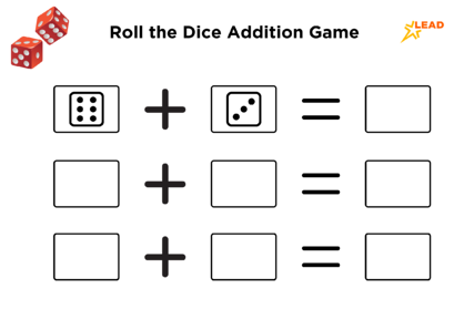 game of dice addition