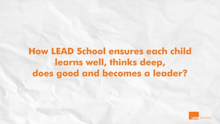 Holistic Learning Experience _ LTDB _ LEAD School 0-12 screenshot