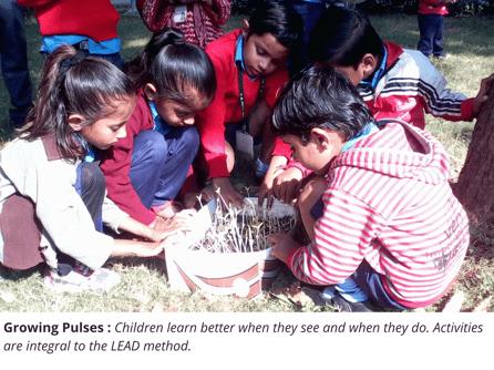 Children learn activities