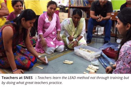 Image 2 _ Teachers learning the LEAD Method