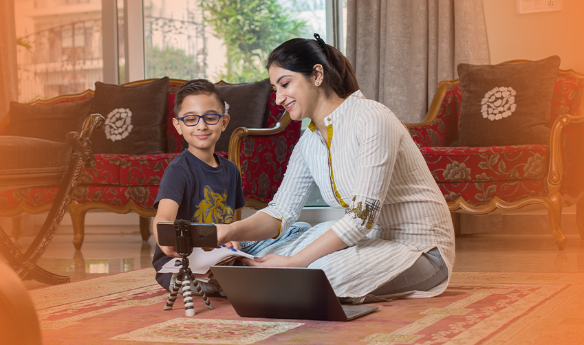 How is technology enabling parents to play a bigger role in their child