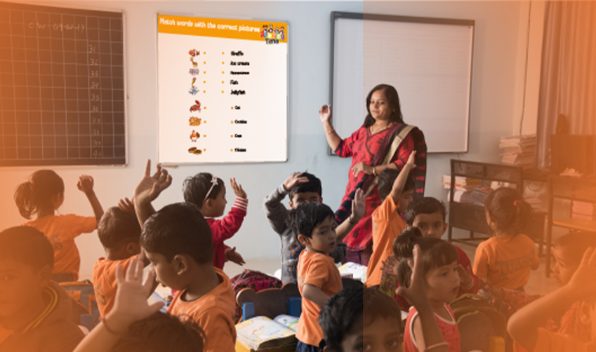 How smart class teaching makes learning effective and interactive?
