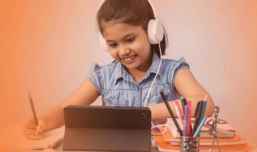 Making technology more human. Engaged and enhanced learning at home