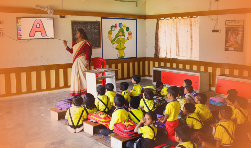 Use of smart classroom brings quality learning amidst school closures